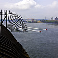 Speed Boats On The East River by Madeline Ellis