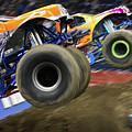 Speeding Tires by Karol Livote