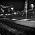 Speedy Train At Kings Cross by David Resnikoff