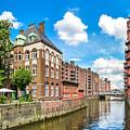 Speicherstadt Warehouse District In Hamburg by JR Photography