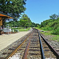 Spencer Railroad Station 2 by Rene Barger