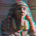 Sphinx - Use Red-cyan 3d Glasses by Brian Wallace