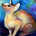 Sphynx Cat 5 Painting by Svetlana Novikova