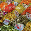 Spice Market In Istanbul by Brandon Bourdages