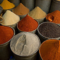 Spices For Sale In Souk, Fes, Morocco by Panoramic Images