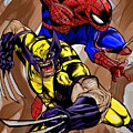 Spider And The Wolverine by Kendall Tabor