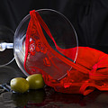 Spilled Martini With Red Panties by Gavin Baker