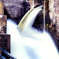 Spillway On The Canal by Michael Riha