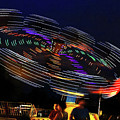 Spinning Lights by Kaye Menner