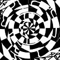 Spinning Tunnel Maze by Yonatan Frimer Maze Artist