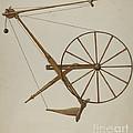 Spinning Wheel by Oscar Bluhme