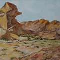 Spinx In The Valley Of Fire by Charme Curtin
