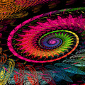 Spiral In  Spirals. by Elena Riim