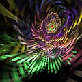 Spiral Rainbow by Deborah Benoit