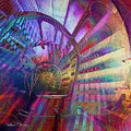 Spiral Staircase by Barbara Berney