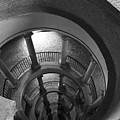 Spiral Staircase by Donna Corless