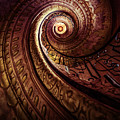 Spiral Staircase In An Old Abby by Jaroslaw Blaminsky