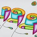 Spiral Triplets by            Gillustrator