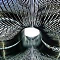 Spiral Wire Bridge by Catherine Melvin