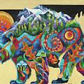Spirit Bear Totem by Sherry Shipley