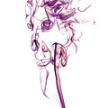 Ghostly Smoke - Magenta by Nick Bywater