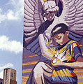 Spirit Of Healing Mural San Antonio Texas by John  Mitchell