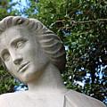 The Spirit Of Nursing Statue Up Close by Cora Wandel
