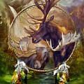 Spirit Of The Moose by Carol Cavalaris
