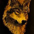 Spirit Wolf by John Guthrie