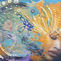 Spiritual Enlightenment  by D'Art Studio