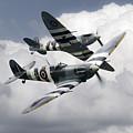Spitfire Flying Legends by J Biggadike