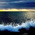 Splash At Sunset by Craig Wood