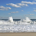 Splash Waves Brielle New Jersey by Terry DeLuco