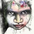 Splattered Stare by Ellen Dawson