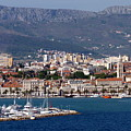 Split Croatia's Waterfront by Carla Parris
