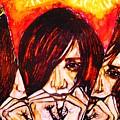 Split Personality by Sarah G ART