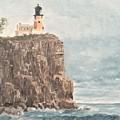 Split Rock Light House 4  by J O Huppler