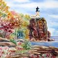 Split Rock Lighthouse by Deborah Ronglien