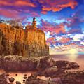 Split Rock Lighthouse by Bekim Art