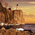 Split Rock Lighthouse by Susan Rissi Tregoning