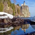 Split Rock Reflections by Sandra Updyke