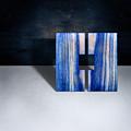 Split Square Blue by YoPedro