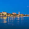 Split Waterfront Blue Hour View by Brch Photography