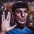 Spock by Timothy Scoggins