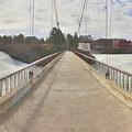 Spokane Pedestrian Bridge by Darrel Giesbrecht