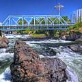 Spokane Falls 2 by Lee Santa