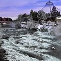 Spokane Pavilion Winter by Daniel Hagerman