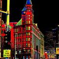 Spokane Turns Red by Ben Upham III