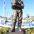 Sponge Diver Memorial by Carol Groenen