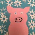Sponge Pig by Catherine Poag